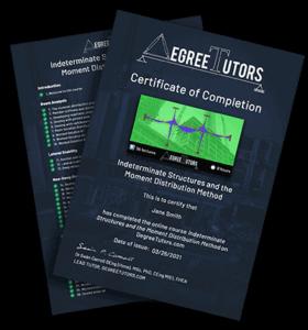 Certificate of Completion 4 | DegreeTutors.com